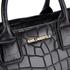 Karl Lagerfeld Women's K/Klassik Croco Tote Bag - Black: Image 4