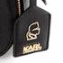 Karl Lagerfeld Women's K/Grainy Small Satchel - Black: Image 7