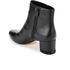 MICHAEL MICHAEL KORS Women's Sabrina Leather Mid Heeled Boots - Black: Image 4