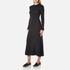 Helmut Lang Women's Double Rib Knit Detached Cuff Dress - Heather Grey: Image 2