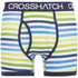 Crosshatch Men's Refraction 2-Pack Boxers - Mood Indigo: Image 1
