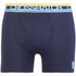 Crosshatch Men's Refraction 2-Pack Boxers - Mood Indigo: Image 3