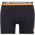 Crosshatch Men's Refraction 2-Pack Boxers - Black: Image 4