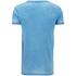 Burnout 运动训练T恤 - 蓝绿色: Image 2