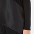 Paisie Women's Knitted Jumper with Silk Panel - Black: Image 6