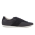Lacoste Men's Turnier 316 1 Leather/Suede Trainers - Black: Image 1