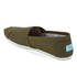 TOMS Men's Seasonal Classic Slip-On Pumps - Military Olive: Image 4