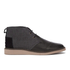 TOMS Men's Mateo Leather/Herringbone Chukka Boots - Black: Image 1