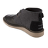 TOMS Men's Mateo Leather/Herringbone Chukka Boots - Black: Image 4