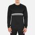 Wood Wood Men's Troy Long Sleeve Sweatshirt - Black: Image 1