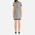 Boutique Moschino Women's Tweed Embellished Dress - Black: Image 3