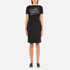 Boutique Moschino Women's Chic Dress T-Shirt Dress - Black: Image 1