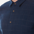 Folk Men's Checked Long Sleeve Shirt - Navy Window Pane: Image 5