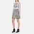 Love Moschino Women's Slogan Jumper - Grey Melange: Image 4