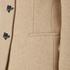 Love Moschino Women's Silver Heart Button Coat - Beige: Image 5