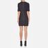 Love Moschino Women's Denim Fitted Dress - Denim: Image 3