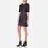 Love Moschino Women's Denim Fitted Dress - Denim: Image 4