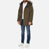 Canada Goose Men's Langford Parka - Military Green: Image 4