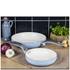 Swan Retro Frying Pans - Sky Blue (20cm/28cm): Image 2