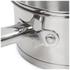 Swan Saucepan Set - Stainless Steel - 16/18/20cm (3 Piece): Image 4