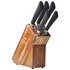 HOH Knife Set in Wooden Block (5 Piece): Image 1