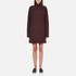 McQ Alexander McQueen Women's Turtleneck Dress - Port: Image 1