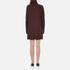 McQ Alexander McQueen Women's Turtleneck Dress - Port: Image 3