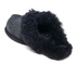 UGG Women's Scuffette II Serein Shimmer Suede Slippers - Black: Image 4