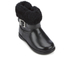 UGG Toddlers' Gemma Patent Leather Boots - Black: Image 2