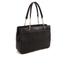 DKNY Women's Gansevoort Pinstripe Quilted Shopper Tote Bag - Black: Image 3
