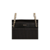 DKNY Women's Gansevoort Pinstripe Quilted Shopper Tote Bag - Black: Image 4