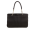 DKNY Women's Gansevoort Pinstripe Quilted Shopper Tote Bag - Black: Image 1