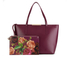 Ted Baker Women's Jailee Printed Lining Shopper Tote Bag - Grape: Image 7