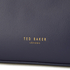 Ted Baker Women's Joriana Printed Lining Small Shopper Tote Bag - Dark Blue: Image 4