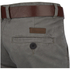 Smith & Jones Men's Ashlar Belted Slim Fit Chinos - Charcoal Twill: Image 3