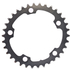 AbsoluteBLACK 110BCD 5 Bolt Spider Mount Oval Chain Ring (Training): Image 2