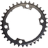AbsoluteBLACK 110BCD 4 Bolt Spider Mount Oval Chain Ring (Training): Image 3