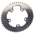 AbsoluteBLACK 110BCD 5 Bolt Spider Mount Aero Oval Chain Ring (Training): Image 3
