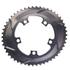 AbsoluteBLACK 110BCD 5 Bolt Spider Mount Aero Oval Chain Ring (Premium): Image 10