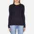 Superdry Women's Luxe Mini Cable Knit Jumper - Navy: Image 1