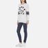 Superdry Women's Applique Pocket Crew Sweatshirt - Ice Marl: Image 4