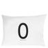 Design Letters Pillowcase - 70x50 cm - O: Image 1