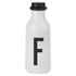 Design Letters Water Bottle - F: Image 1