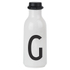 Design Letters Water Bottle - G: Image 1