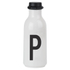 Design Letters Water Bottle - P: Image 1