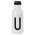 Design Letters Water Bottle - U: Image 1