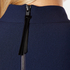 Perseverance Women's Long Sleeve Crepe T-Blouse with Frill Cuff - Navy: Image 6