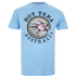 Hot Tuna Men's Australia T-Shirt - Sky Blue: Image 1