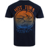 Hot Tuna Men's Colour Fish T-Shirt - French Marine: Image 2