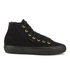 Superga Women's 2795 Syntshearlingw Hi-Top Trainers - Full Black: Image 1